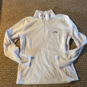 The North Face quarter zip fleece